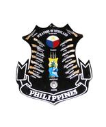 Filipino Plaque Weapons of Philippines Moroland Mindanao Kali Escrima Ar... - $49.95