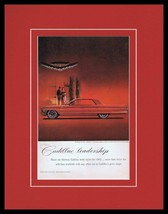 1962 Cadillac Sedan de Ville Framed 11x14 ORIGINAL Vintage Advertisement - $41.71