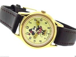 Lorus By Seiko Disney Petite Pie-Eyed Minnie Mouse Animated Hands Watch - $85.50