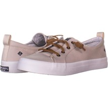 Sperry Top-Sider Crest Vibe Lace Up Fashion Sneakers 329, Oat, 9.5 US / ... - $23.03