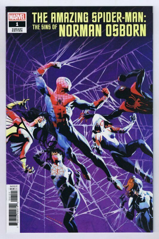 Primary image for Amazing Spider-Man Sins Of Norman Osborn #1 2020 Marvel Comics Rojas Variant