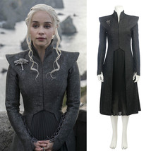 Game of Thrones Mother Dragon Daenerys Targaryen Cosplay Costume Dress H... - $128.69