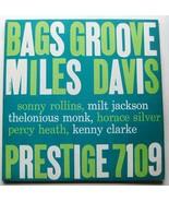 Miles Davis Bags Groove Prestige Lp 7019 Yellow Nj Dg Rvg - $418.99