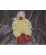 "Hallmark Bunnies By The Bay Yellow Fellow Duck 11"" 16"" Plush Stuffed Easter - $15.04"
