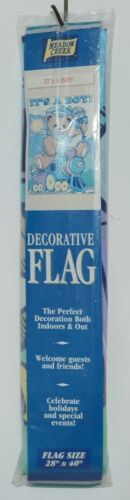 Meadow Creek Products 59047 Its a Boy Decorative Polyester Flag