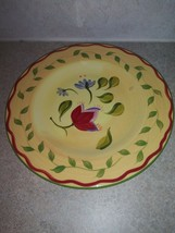 "Pfaltzgraff Napoli SALAD/LUNCHEON Plate 9 1/8"" Wide Hand Painted - $10.44"