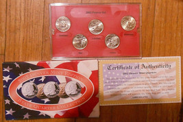 2002 Uncirculated State Quarter Denver Mint Set. - $3.50