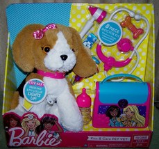 Barbie KISS & CARE PET VET Playset New - $20.88