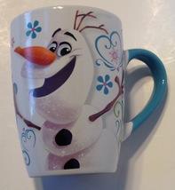 Coffee Mug Disney Frozen Olaf I Love All Things Warm Ceramic - $17.82