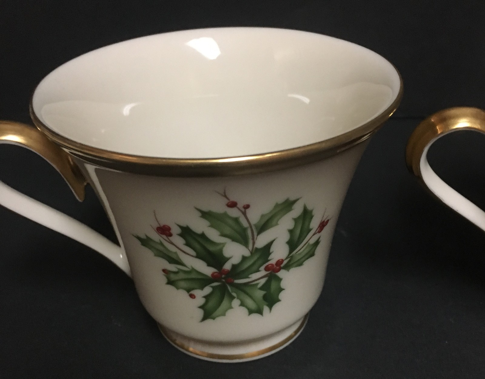 Lenox Holiday Tea Cups Set of Two
