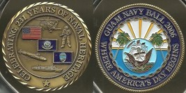 US Navy Celebrating 231 Years of Naval Heritage Challenge Coin - $9.89