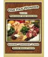 NEW Jim Ruch One Pan Wonder Shrimp Chicken Lamb Vol. 1 Recipe Book & Coo... - $9.94
