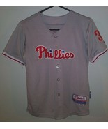 MLB Authentic Majestic Lee Stitched Philadelphia Phillies #33 Jersey You... - $21.77