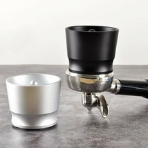 Coffee Dosing Ring Aluminum Alloy Intelligent Powder Feeder Grinder Brew... - $34.99