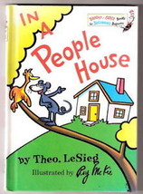 DR Seuss, IN A PEOPLE HOUSE  Theo. Lesieg  Ex++ 1972 - $12.19
