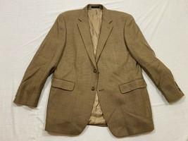 M106 EUC RALPH LAUREN Brown 100% Wool Blazer Suit Jacket MEN'S 40R - $29.65