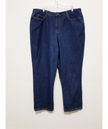 Route 66 Womens Jeans Size 18 S Blue Cotton Denim Pants Relaxed Fit Stra... - $23.85