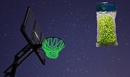 MCNICK & COMPANY Glow in The Dark Outdoor Basketball Net Rim Hoop Heavy ... - $20.76