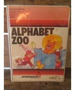Alfabeto Zoo 1983 Casa Ordenador Software Juego para Atari 400/800 - $10.40