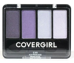 1 Ct Covergirl 0.19 Oz Eye Enhancers 230 Ice Princess 4 Palette Blendable Shadow - $12.99