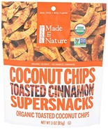 Made in Nature Coconut Chips Toasted Cinnamon, 3 oz - $15.98