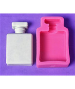 Brand Perfume Bottle Silicone Mold, Fashion Silicone Mold, Perfume Bottl... - $14.00