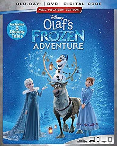 Disney Olaf's Frozen Adventure [Blu-ray + DVD + Digital]