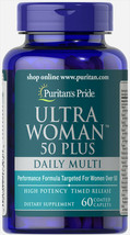 #1 BEST ULTRA WOMAN 50 PLUS SUPPORT HEALTHY BONES ANTIOXIDANT SUPPLEMENT 120 CAP image 2