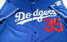 CODY BELLINGER / L.A. DODGERS / AUTOGRAPHED DODGERS BLUE PRO STYLE JERSEY / COA image 2