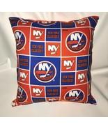 Islanders NHL Pillow New York Islanders Pillow Handmade In USA - $9.99