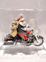 Harley-Davidson Motor Cycles King Of The Road Ornament w/ Chrome Ornamen... - $34.99
