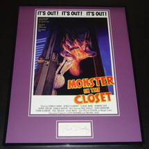 Paul Dooley Signed Framed 16x20 Photo Poster Display Monster in the Closet - $65.09