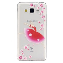 Embossed TPU Phone Case for Samsung Galaxy Grand Prime SM-G530 - Ballet ... - $2.24