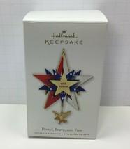 Hallmark Keepsake Ornament Proud Brave and Free 2010 Christmas Ornament ... - $6.76