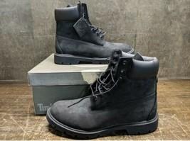 Timberland Men's Boots 6inClassic Waterproof Rust Nubuck 9.5W/L Style TB... - $147.51