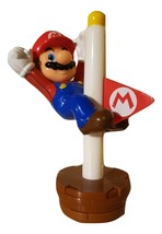 Super Mario Bros Flag Pole Figure Famicom Quest Japan Version Made For M... - $11.87