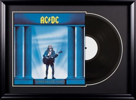 AC/DC - Who Made Who - Vintage Album Deluxe Framed - £89.06 GBP