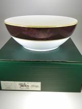 Noritake Mahogany Rose Large Round Vegetable/Salad Bowl NEW WITH TAGS - $36.14