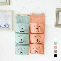 Wall Hanging Storage Bag Linen Closet Room Organizer Toys Books Cosmetic... - $6.99