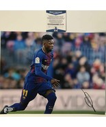 Autographed/Signed OUSMANE DEMBELE FC Barcelona 11x14 Photo Beckett BAS ... - $84.99
