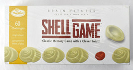ThinkFun Brain Fitness Shell Game Classic Memory 60 Challenges Single Player - $39.55
