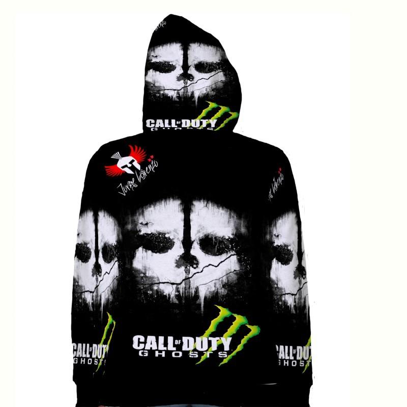 Jorge Lorenzo JL99 Call of Duty Ghost Hoodie Fullprint for women