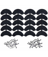 Heel Plates Boots Shoes Taps Tips Sole Repair Protector Replacement Pads... - $13.90
