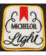 Vintage uniform patch MICHELOB LIGHT beer unused new old stock n-mint+ c... - $6.99