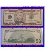 1996 $50.00 F R N 8 #s in serial 7 make straight Black transfer reverse ... - $155.00