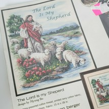 """Dimensions Stamped Cross Stitch Kit The Lord Is My Shepherd 11""""x14"""" Mode... - $24.74"""