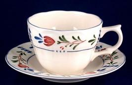 4 Nikko Avondale Cup & Saucer Sets Provincial Designs - $16.00