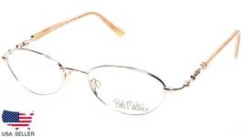 NEW BOB MACKIE BM113 053 GOLD IVORY EYEGLASSES GLASSES 113 49-18-135 B31... - $22.75