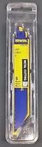 "Irwin 372614P5 6"" x 14 TPI Metal Cutting Reciprocating Blades 5 Pack USA  - $6.44"