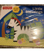Fisher Price Music 2- CD Set Little Blessings Soothing Lullabies - $5.81